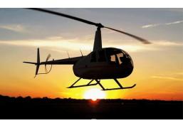 Вертолётная прогулка для двоих на закате 40 минут