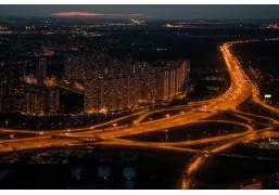 Вертолётная прогулка 40 минут над ночной Москвой