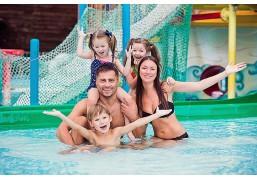 Неограниченное посещение аквапарка и банного комплекса для 2 взрослых и 2 детей