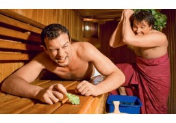 Русская баня на дровах для двоих