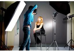 Двухчасовая фотосессия в интерьерной студии премиум-класса