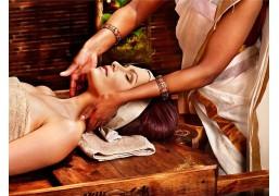 Индийский массаж лица