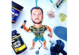 Создание авторской портретной куклы