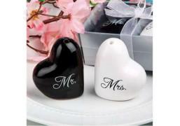 """Набор для специй """"Сердечки Mr. & Mrs."""""""