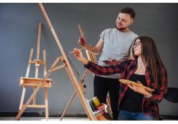 Индивидуальное занятие по масляной живописи для двоих