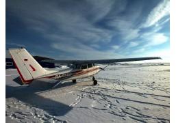 Полёт на самолёте над Казанью и Свияжском