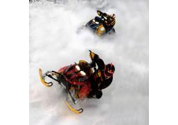 Гонки на снегоходах (Катание на снегоходе Standart)