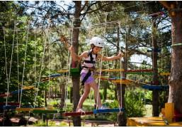 Прохождение верёвочного парка (детский маршрут для 1 ребёнка)
