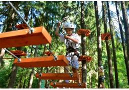 Прохождение верёвочного парка (1 маршрут для семьи до 4х человек)