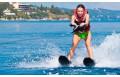 Катание на водных лыжах double