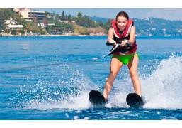 Катание на водных лыжах для двоих